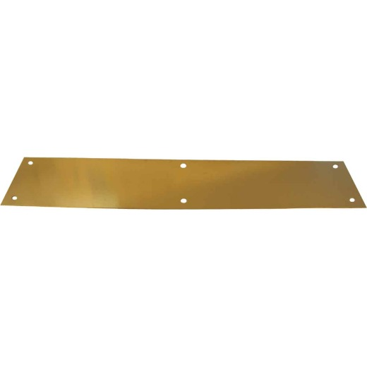 Tell 3.5 In. x 15 In. Brass Push Plate