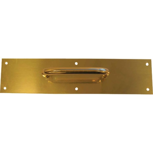 Tell 5.5 In. Brass Pull Plate