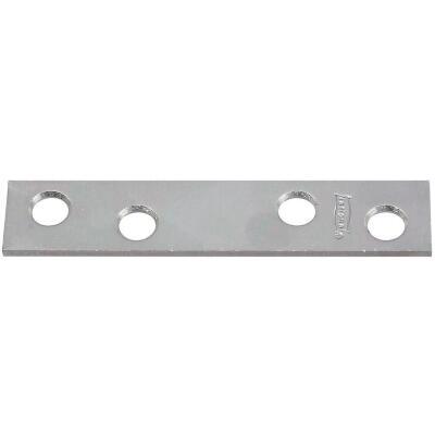 National Catalog 118 3 In. x 5/8 In. Zinc Steel Mending Brace (4-Count)
