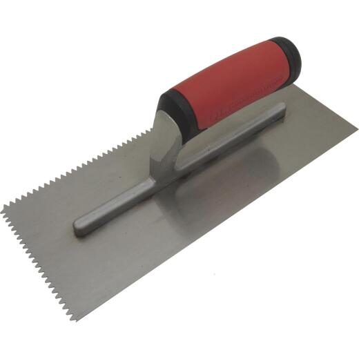 QLT 3/16 In. V-Notched Trowel w/Soft Grip
