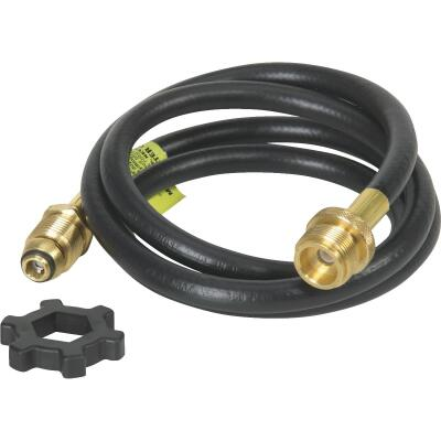 MR. HEATER 5 Ft. x Swivel 1 In.-20 Male Throwaway Cylinder Mr. Heater Buddy LP Hose Assembly