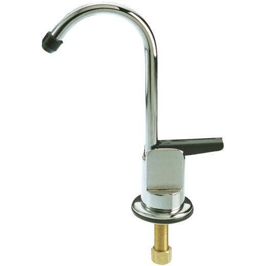 B & K Chrome-Plated Compression Inlet Drinking Water Faucet
