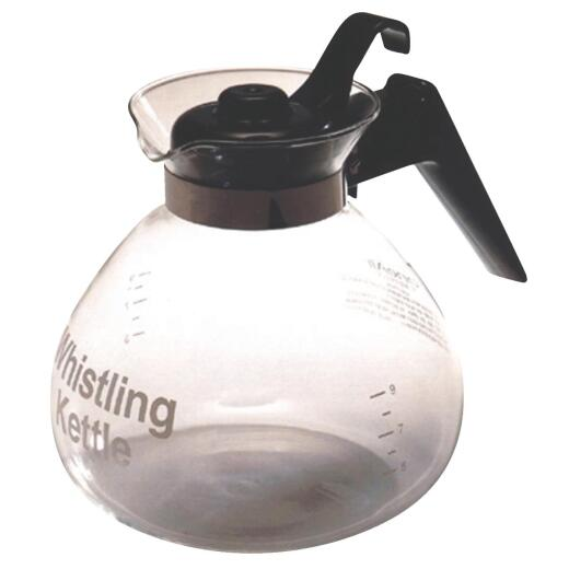 Medelco 3 Qt. Glass Stovetop Stove Top Tea Kettle