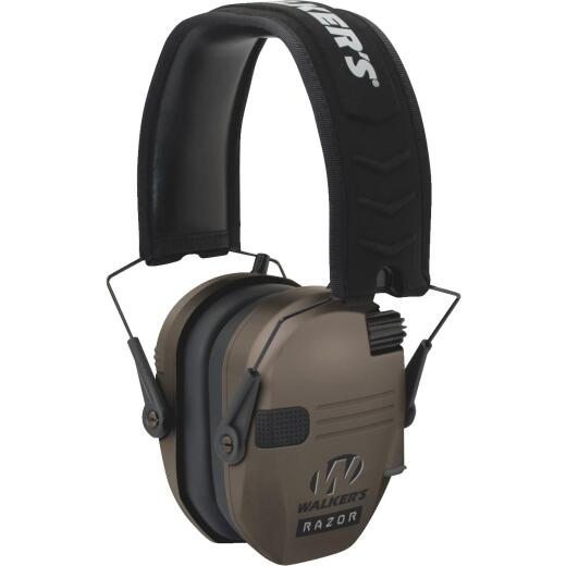 Walker's Razor Series Dark Earth Electronic Earmuffs