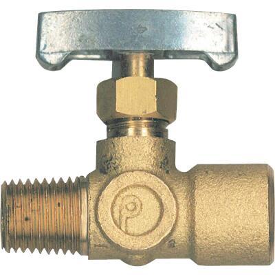 Bayou Classic 1/4 In. x 1/4 In. Brass Adjustable Gas Regulator